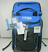 Titan 26 Can Deep Freeze Ultra Backpack Cooler Ice Bag Food/drinks With Ice Wall