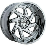 20x9 Motiv Offroad 426c Chrome Wheels 8x170 +18 Set Of 4