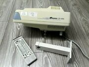 Marco Cp-690 Auto Projector With Remote Control Used