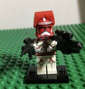 Nos 2013 Lego Star Wars Custom Shock Clone Trooper With Weapons In Phase 2 Visor