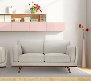 Contemporary Hand Crafted Loveseat Living Room Furniture Camden Loveseat