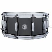 Gretsch Drums Black Nickel Over Steel Snare Drum - 6.5 Inches X 14 Inches