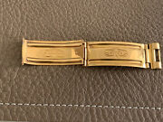 Rolex 18k Yellow Gold 1968 Clasp Blade For Vintage Watch Repair 20mm