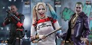 Hot Toys Suicide Squad Special Harley Quinn Joker Deadshot Mms 381 382 383 New