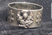 Joan Of Arc Rare Silver Pass Ring..