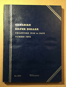 Whitman Canadian Silver Dollar Collection 1958-date Number Two No.9087 Album