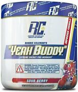 Ronnie Coleman Yeah Buddy 30 Serve Pre-workout Sour Berry
