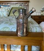 Antique Silver-plated Reed And Barton Milk Jug Cocktail Shaker