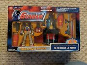 Rx-78 Gundam And G-fighter Deluxe Edition Action Figures New Rare Oop