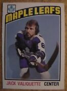 1976-77 Opc Nhl Toronto Maple Leafs Various Trading Cards