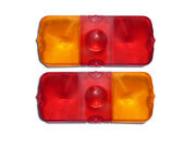 Uaz 469 Tail Lights Glasses ФП132-3716204 Parts For Soviet Military Cars