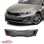 Fits Kia Optima 2011-2013 Front Upper Grille Grill Chromeonly Sx/sxl