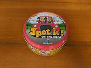 Spot It On The Road, Card Game In A Tin, Blue Orange, Euc
