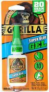 Gorilla Super Glue Gel 1-pack Metal Plastic Wood Home Use And Outdoor