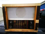 Vintage Tube Murphy Radio Receiver For Parts Or Restoration Only As Is Read