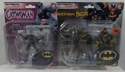 Microman Batman And Batgirl And Catwoman With Whip Ma-sp01 And Ma-1 By Takara Japan