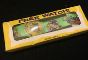 The Great Muppet Caper Movie Promotional Digital Watch - 1981 Collector Disney