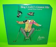 Bing Crosby Greatest Hits Includes White Christmas Sealed Vinyl Lp Record Album