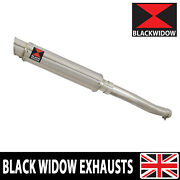 Yamaha Yzfr6 Yzf-r6 1998-2002 Exhaust Silencer Kit 350mm Gp Stainless Sg35r