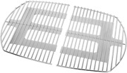 Grill Cooking Grid Grates 2-pack For Weber Q320 Q3000 Q3100 Q3200 7646 Solid Rod