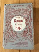 The Return Of The King J.r.r. Tolkien 5.00 On Dj Early Printing Undated Hc