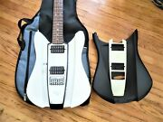 Rks Guitar Wave Model With A Second Body And Rks Logo Bag Great Sound And Player