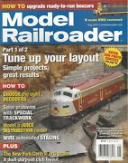 Model Railroader May 2007 Solve Problems With Special Trackwork A358
