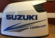 Suzuki Fourstroke Outboard Engine Decal Sticker 175 Hp Message For 90 - 300 Hp