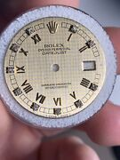 Rolex Houndstooth Factory Diamond Dial For 36mm Datejust Watch 16013 16233