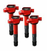 82194 Msd Ignition Coils Blaster Series, 2008-2015 Honda/acura 2.4l, Red, 4-pack