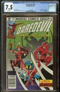 Daredevil Comic 174 Cgc 7.5 Marvel 1981 1st Appearance Of The Hand