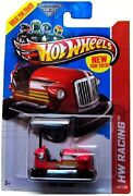 2013 Hot Wheels Hw Racing Series Bump Around Red Brand New Sealed Free Shipping