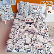 Full Set Anime Kantai Collection Quilt Cover Blanket Bed Sheet Bedding 59x78