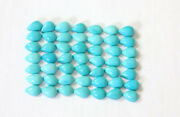 Natural 8x12 Mm Turquoise Pear Cabochons Sleeping Beauty Arizona Aaa Quality