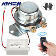 12v Truck Marine Battery Disconnect Switch Car Wireless Remote Control 180amp