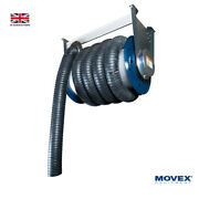 Drop Down Hose Reel Ase-65-100 - Car Truck Trains Exhaust Fume Extraction Diesel