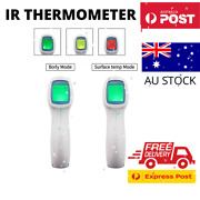 Lcd Digital Non-contact Ir Infrared Thermometer Forehead Body Temperature Gun