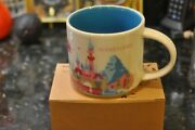 Disneyland Starbucks You Are Here 1st Edition Coffee Mug Sold Out