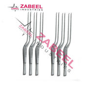 Taylor Dissecting Forceps Bayonet Shaped 1x2 Teeth Micro Surgery Instruments