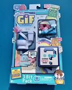 Oh My Gif 3 Bit Pack [season 1] Gif's Gone Live, Working Out Doughby Moose Toys