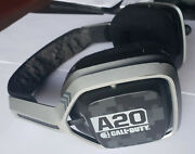 Black Astro Gaming A20 Call Of Duty Headset Only Xbox Pc - Works But Sold-as-is