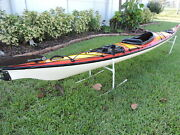 Perception Shadow Sea Kayak Made W Kevlar Epiccarbon Paddle Misc Accessories