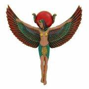 Pacific Giftware Ancient Egyptian Goddess Isis With Open Wings Decorative Wall