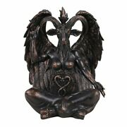 Pacific Giftware Large Seated Baphomet Lucifer Satanic Demon Goat Of Mendes...