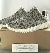 Used Adidas Yeezy Boost 350 Low Turtle Dove Us8 Uk7.5 Aq4832 2015 Authentic