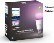 Philips Hue White And Color Ambiance A19 Led Starter Kit - Multicolor