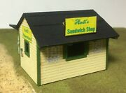 Motrak Models S Scale Andi's Sandwich Shop And Newsstand - 63003 Building Kit Hh