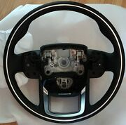 Range Rover Sport L494 Heated Steering Wheel With Chrome Ring Trim Oem 2018 Type