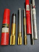 4 Usa Extended Reach Npt Taps Tin Oil Fed Pipe Taper Tap ⅜ Andfrac12 Andfrac34 And 1 Machinist