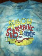 Awesome Abercrombieandfitch Beatles Yellow Submarine Tie-dye Size Large